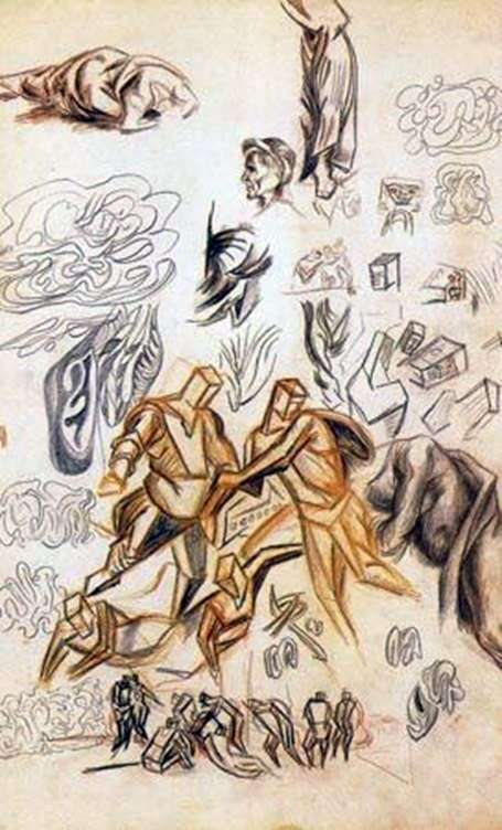 Sketches by Jackson Pollock