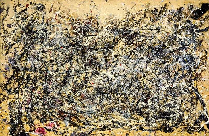 Number 1A by Jackson Pollock