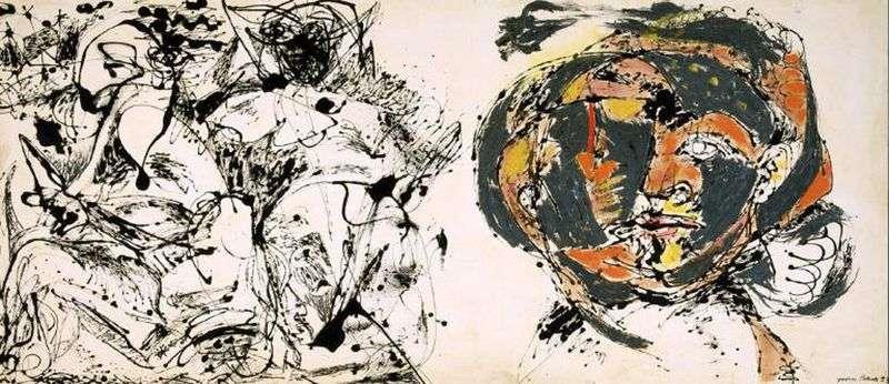 Portrait and Sleep by Jackson Pollock