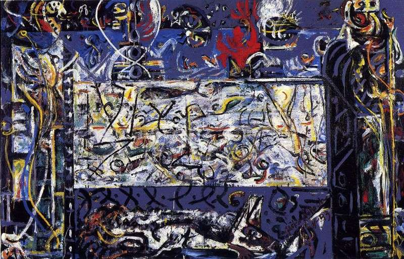 Keepers of Secrets by Jackson Pollock