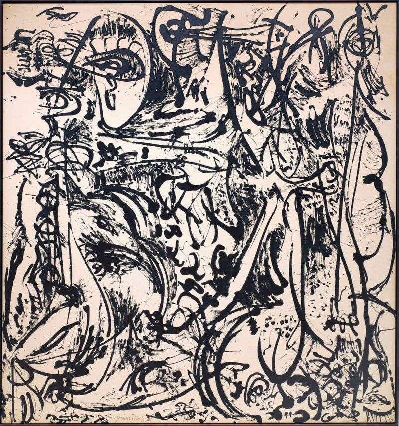 Echo by Jackson Pollock