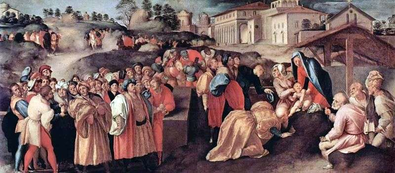 Adoration of the Magi by Jacopo Pontormo