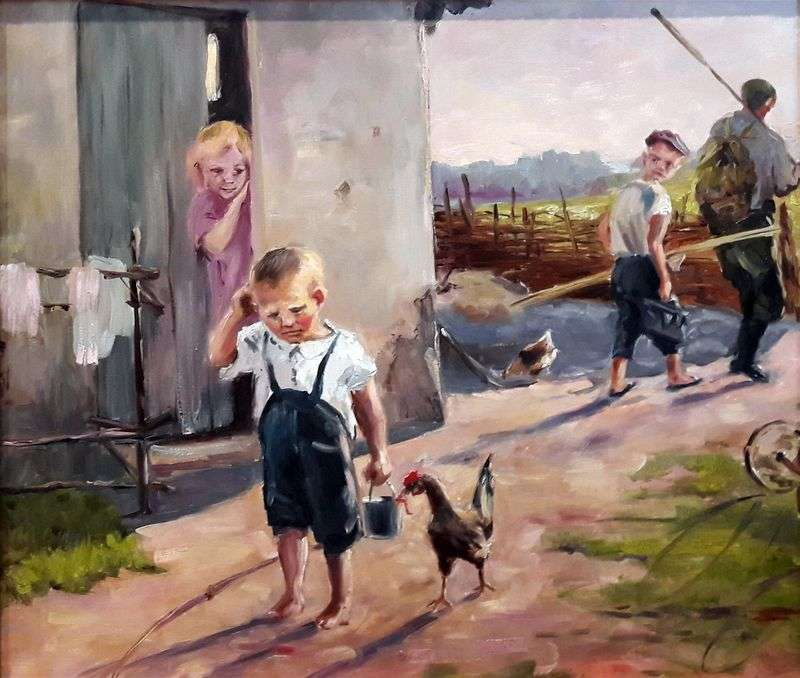Did not take a fishing trip by Oleg Popovich