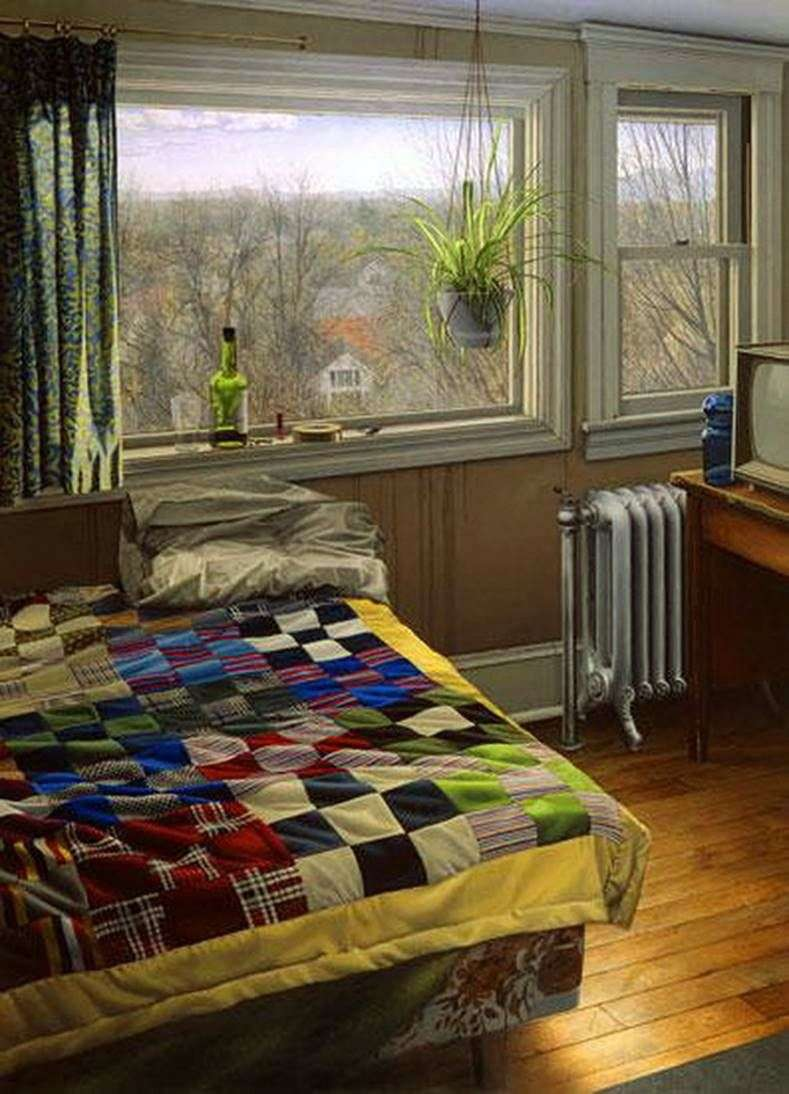 Bedroom in Winter by Scott Pryor