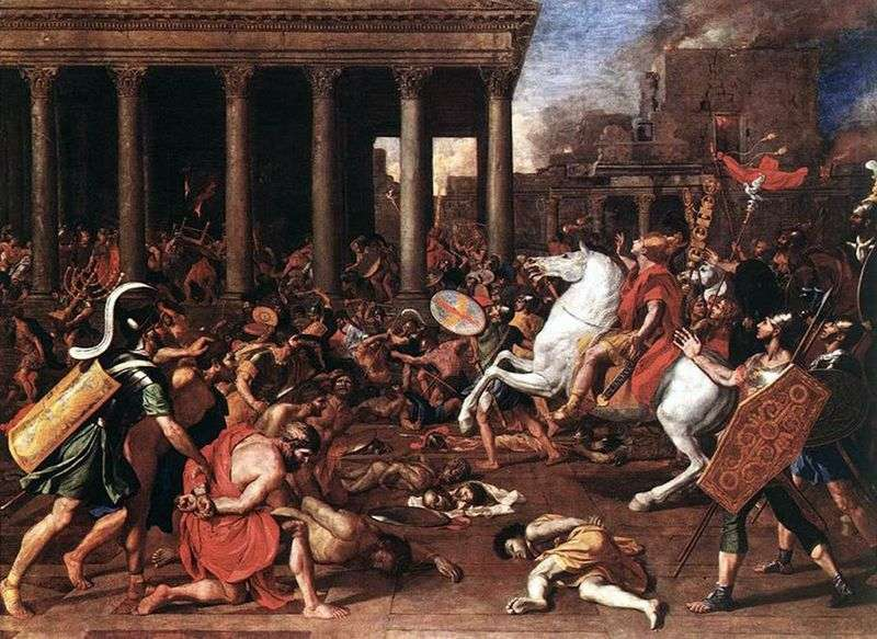 Destruction of the Temple in Jerusalem by Nicolas Poussin
