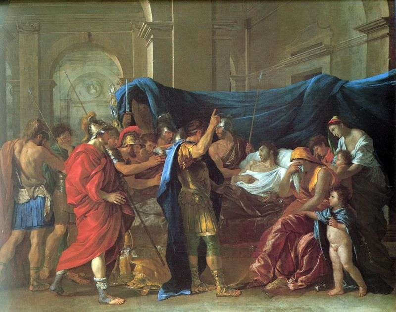 Death of Germanicus by Nicolas Poussin