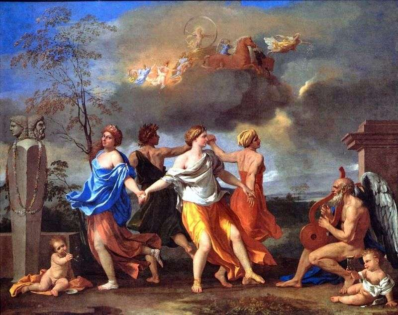 Dance to the Music of Time by Nicolas Poussin