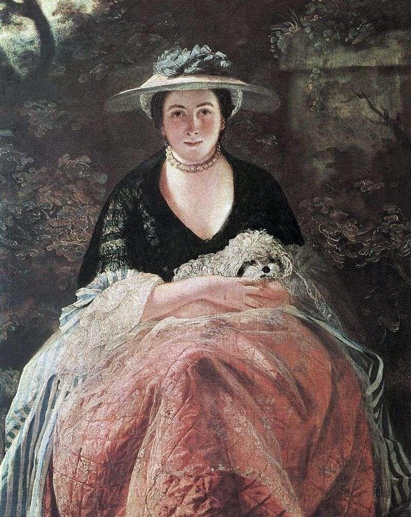 Portrait of Nelly OBrien by Joshua Reynolds
