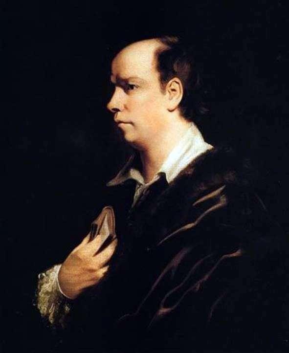Portrait of Oliver Goldsmith by Joshua Reynolds
