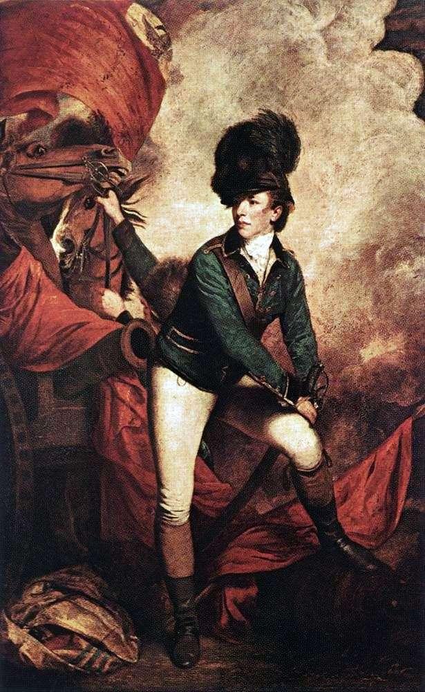 Portrait of Colonel Tarleton by Joshua Reynolds