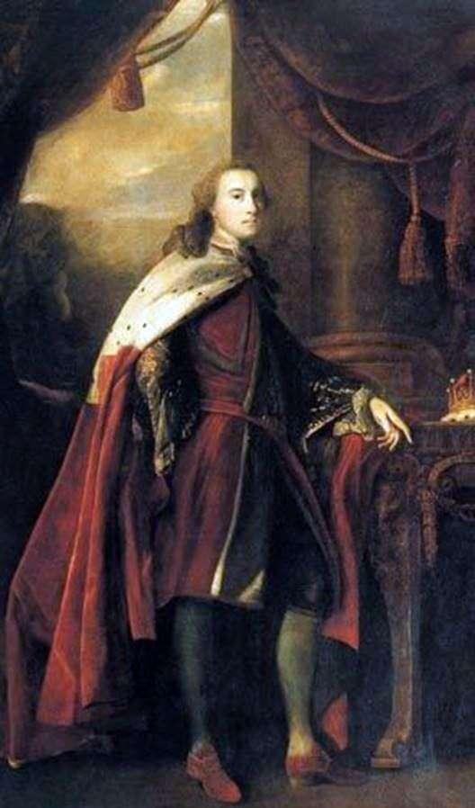 Portrait of William Lake, Second Earl of Dartmoor by Joshua Reynolds