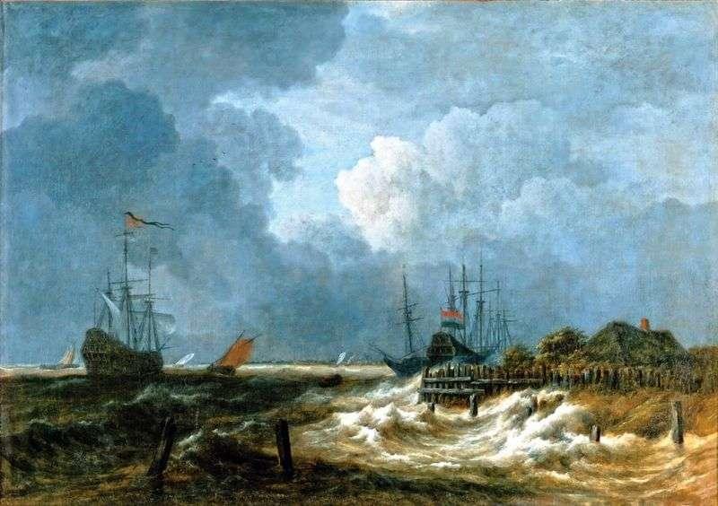 Marine by Jacob van Ruysdael