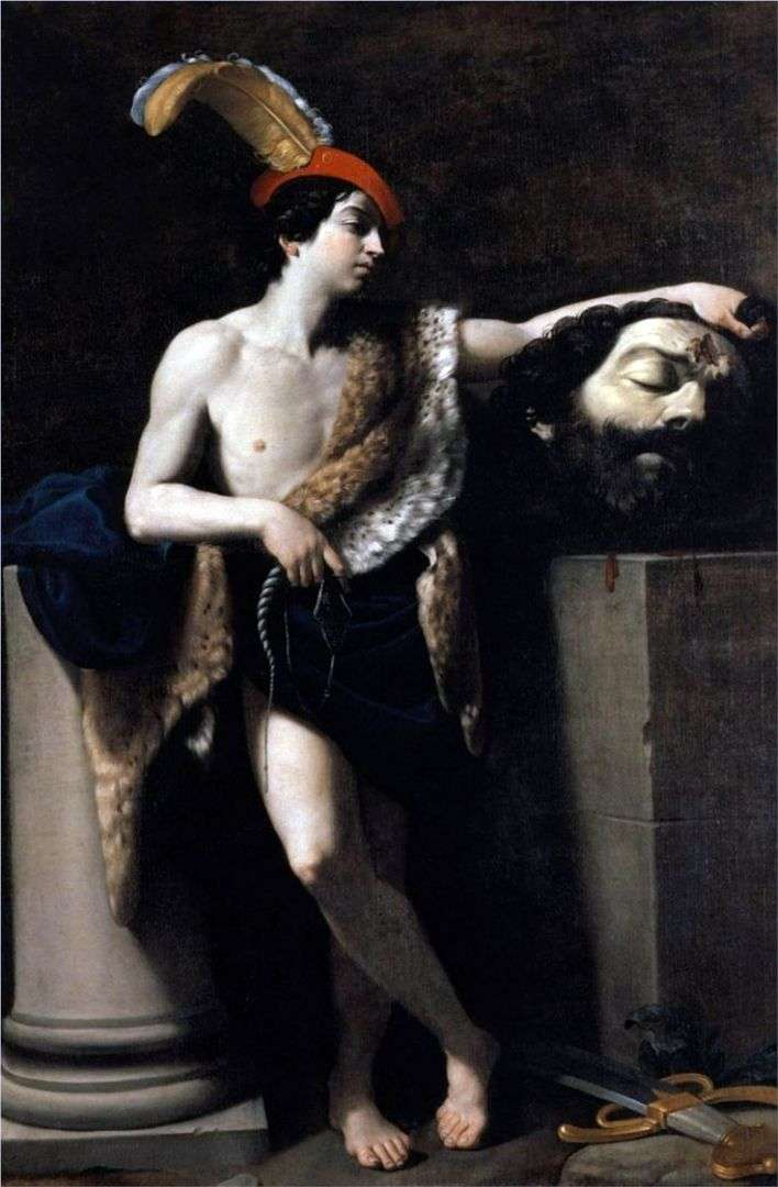 David with the head of Goliath by Guido Reni