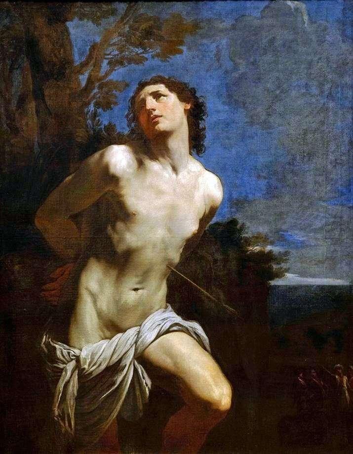 Saint Sebastian by Guido Reni
