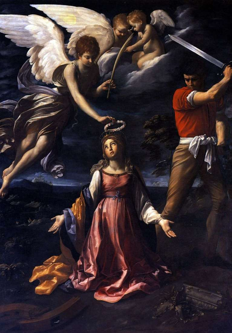 Death of Catherine of Alexandria by Guido Reni