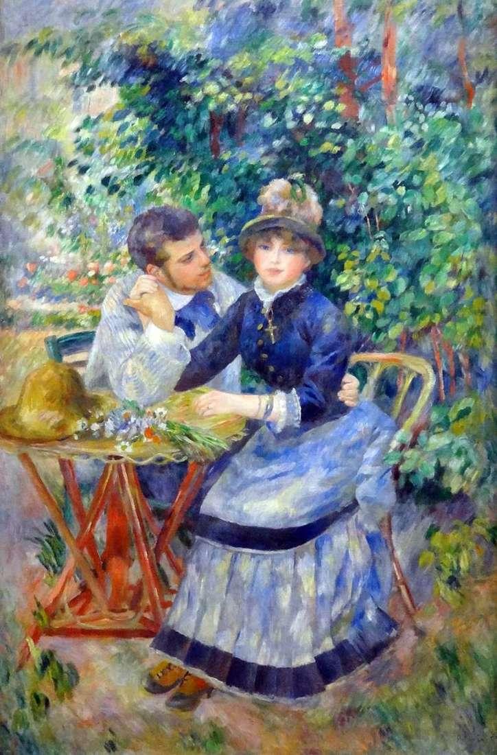 In the Garden by Pierre Auguste Renoir