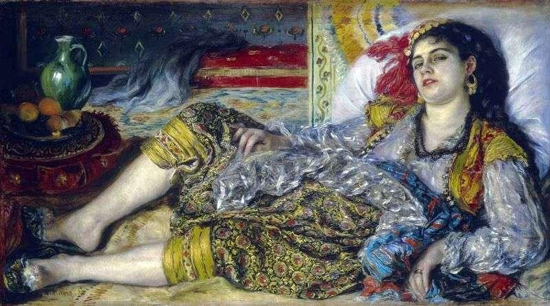 Odalisque (Algerian Woman) by Pierre Auguste Renoir