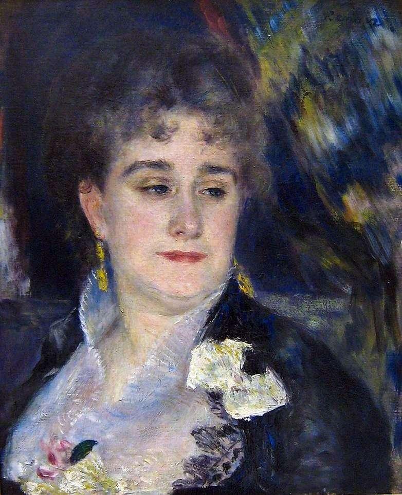 Portrait of Madame Charpentier by Pierre Auguste Renoir