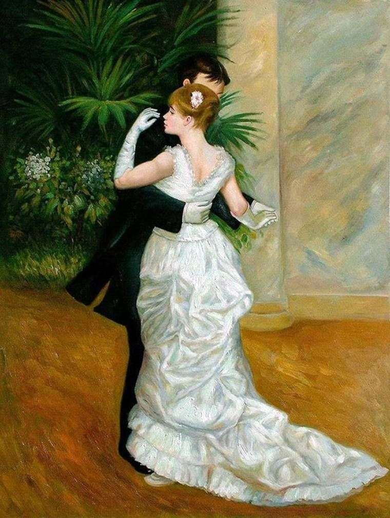 Dance in the City by Pierre Auguste Renoir