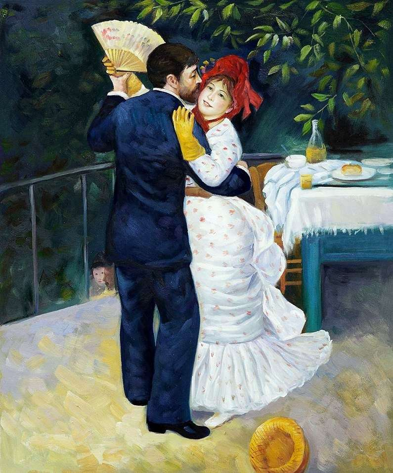 Dance in the Village by Pierre Auguste Renoir