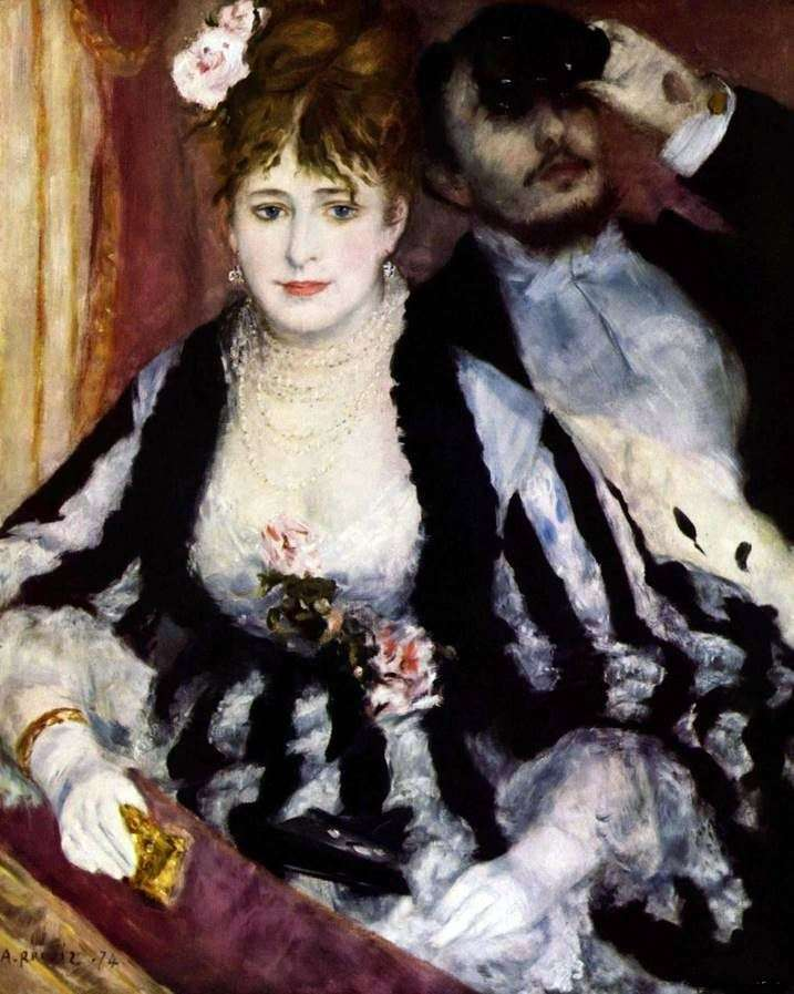 Theater Bed by Pierre Auguste Renoir