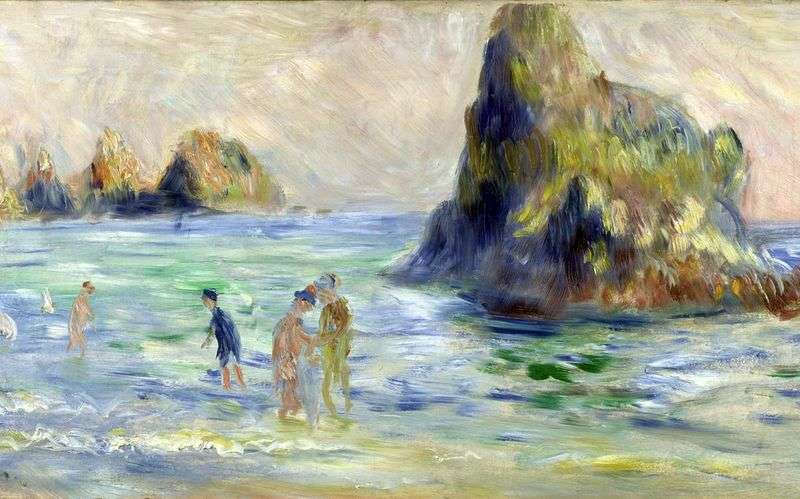 Etudes oil by Pierre Auguste Renoir