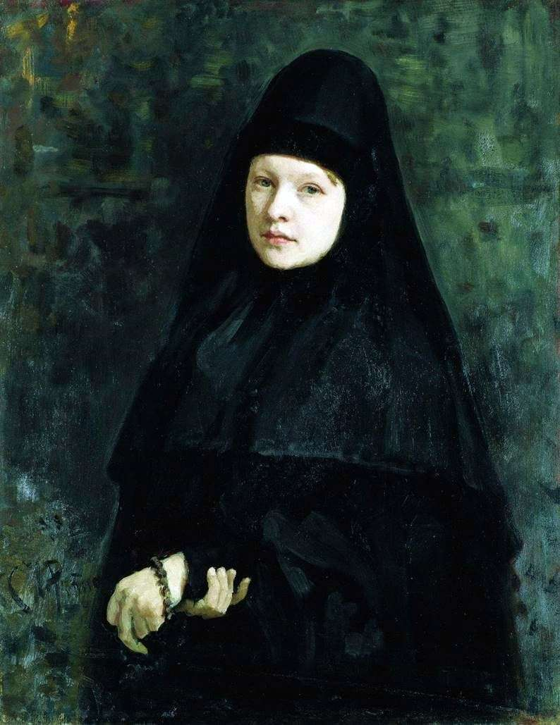 Nun by Ilya Repin