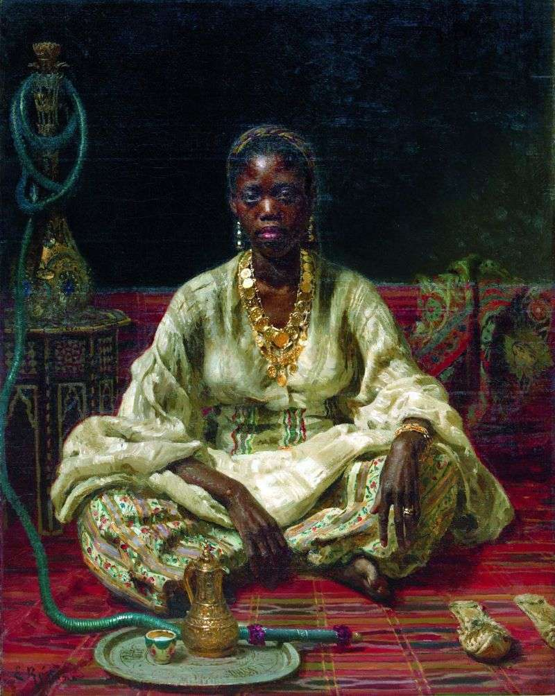 Negro Woman by Ilya Repin