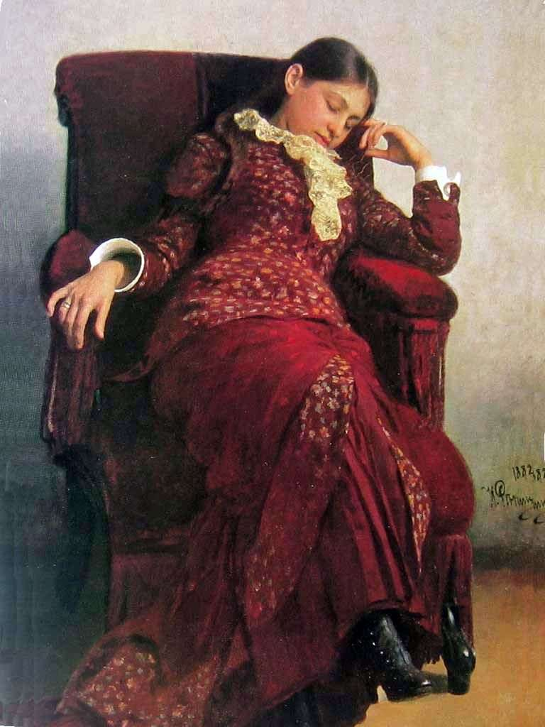 Rest by Ilya Repin