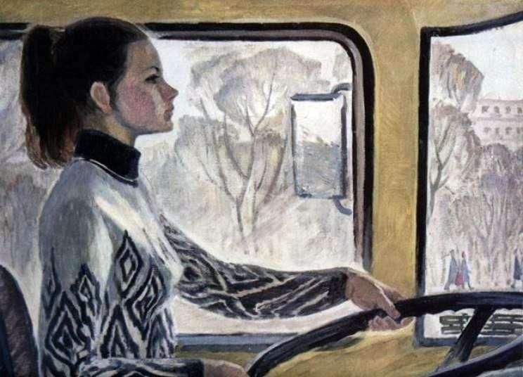 Driver Valya by Vera Repka