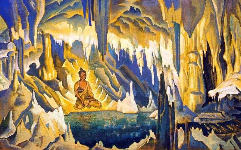 Buddha winner by Nicholas Roerich