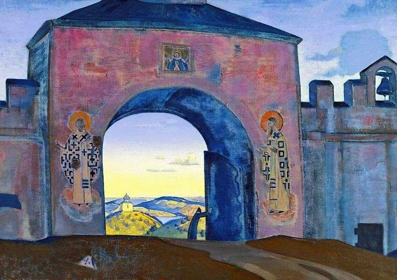 And open the gate by Nicholas Roerich