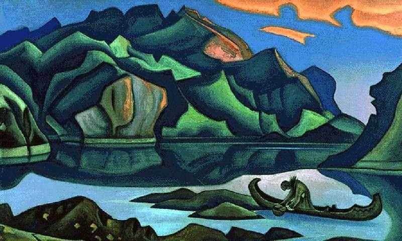 Buried treasure by Nicholas Roerich