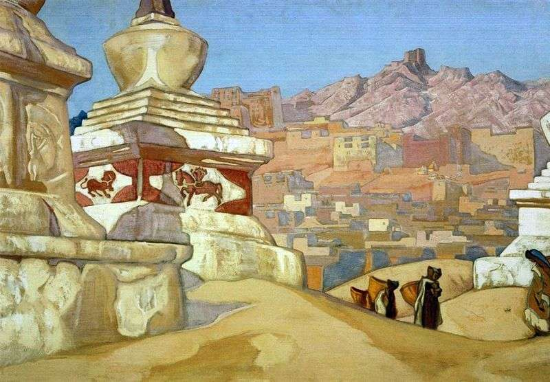 Red Horseman by Nicholas Roerich