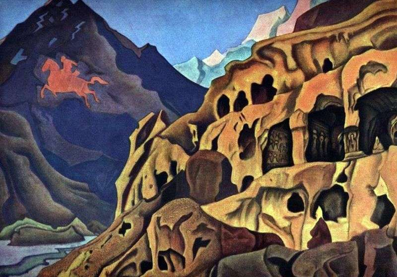 The power of the caves by Nicholas Roerich