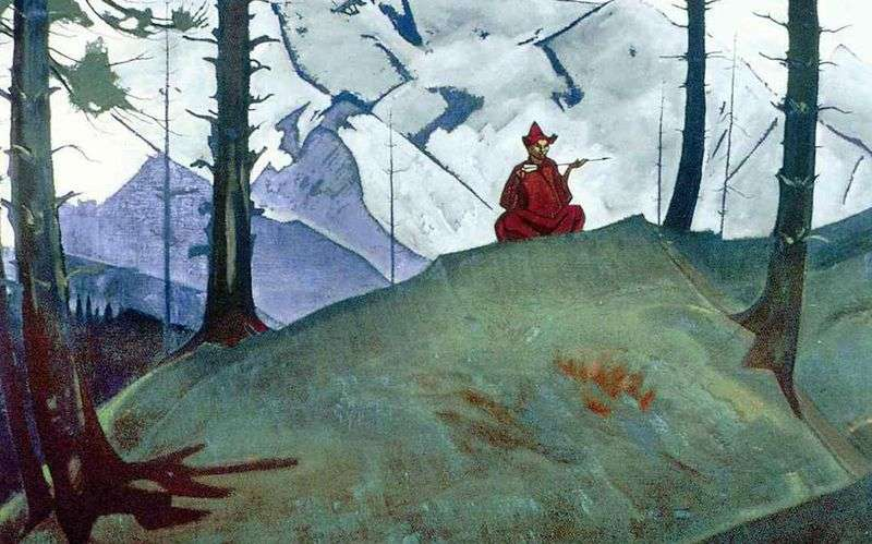 Sarakha by The Blessed Arrow   Nicholas Roerich