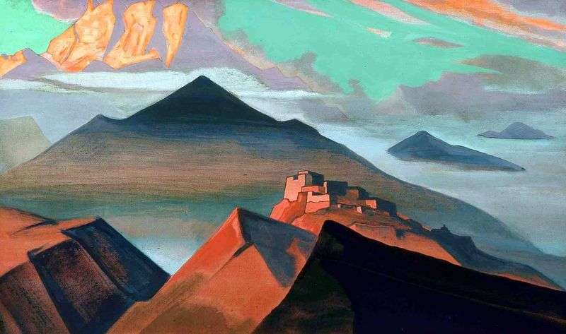 Tent Mountain by Nicholas Roerich