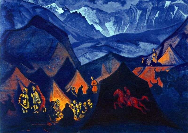 Whispers of the Desert by Nicholas Roerich