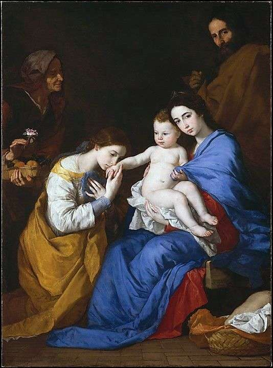 Mystical betrothal of sv. Catherine of Alexandria by Jusepe de Ribera