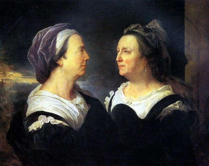 Madame Rigo, the artists mother, in two portraits by Hyacinth Rigaud
