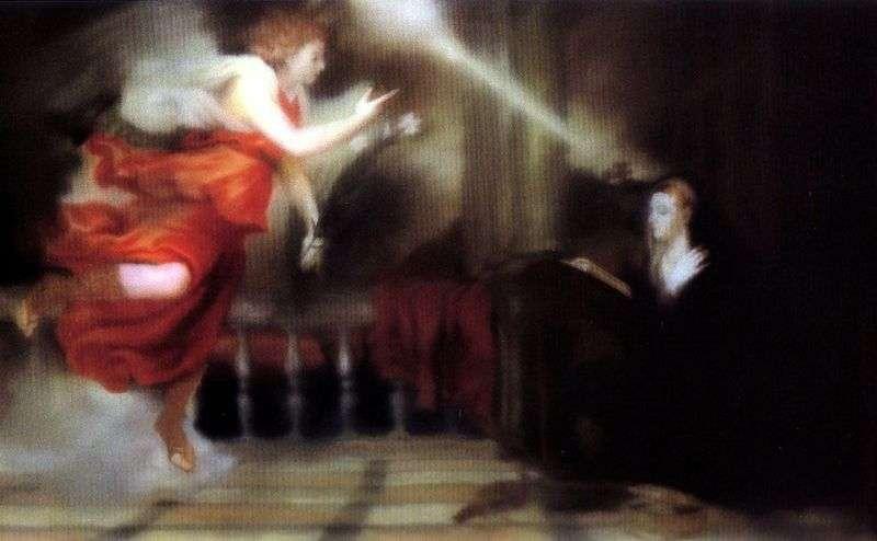 Titians Annunciation by Gerhard Richter