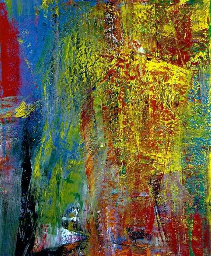 Courbet by Gerhard Richter
