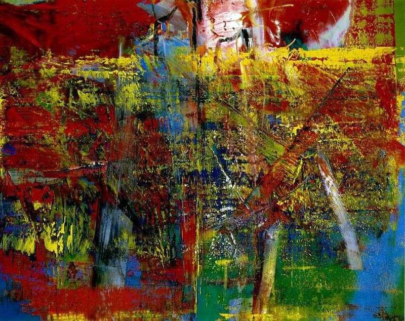 Meditation by Gerhard Richter