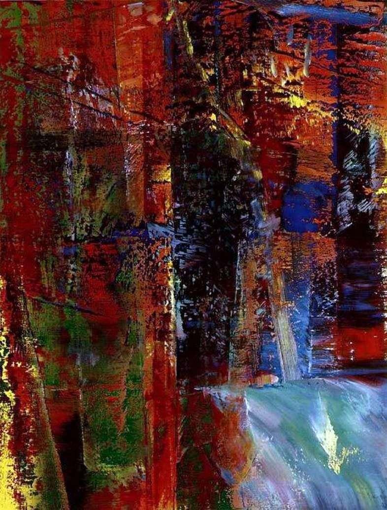 Darkness by Gerhard Richter