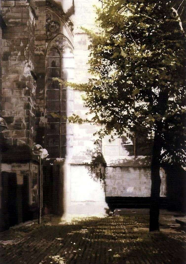 Corner of the Cathedral by Gerhard Richter