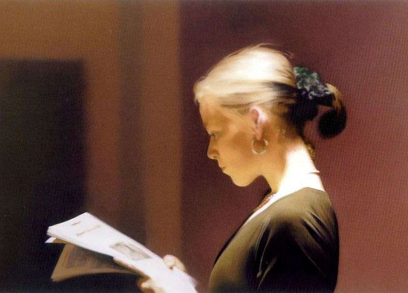 Reading by Gerhard Richter