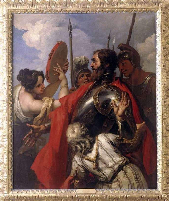 Jephthah and His Daughter by Sebastiano Ricci