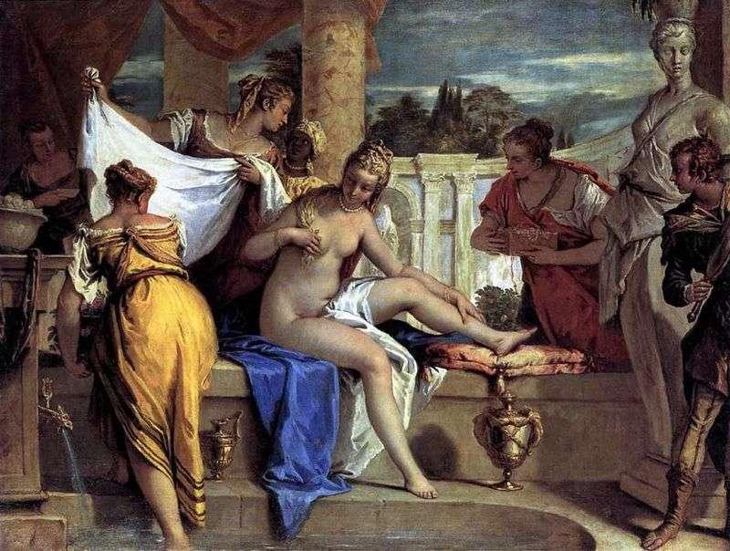 Bathing Bathsheba by Sebastiano Ricci