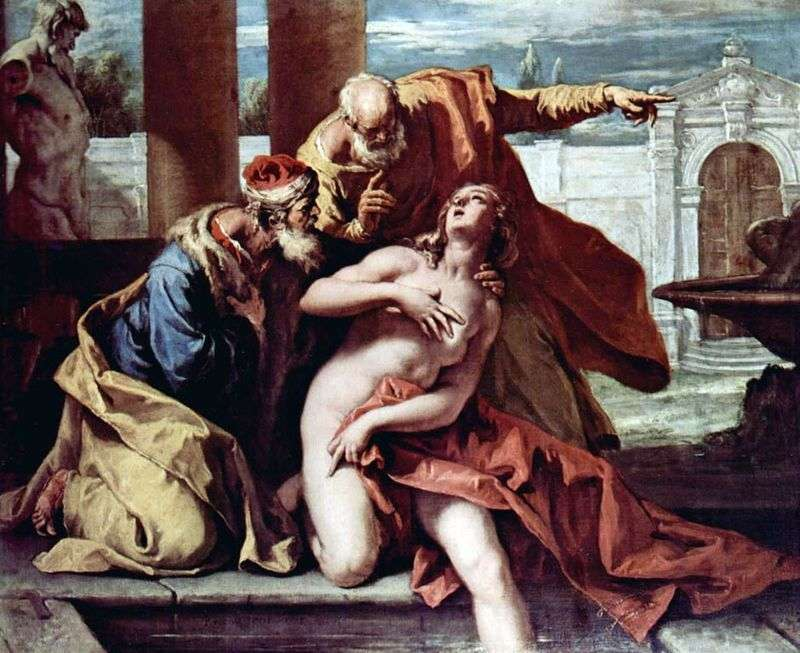 Susanna and the Elders by Sebastiano Ricci