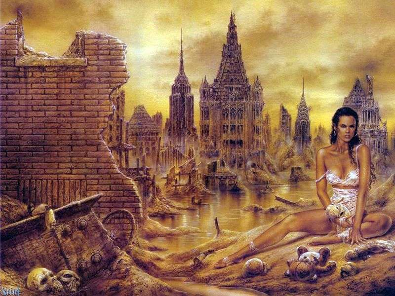 Death of the World by Luis Royo